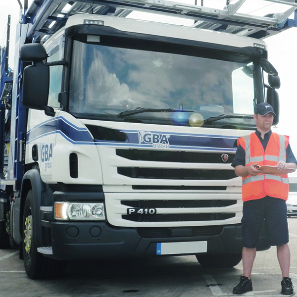 We manage a fleet of more than 150 specialised vehicle transporters